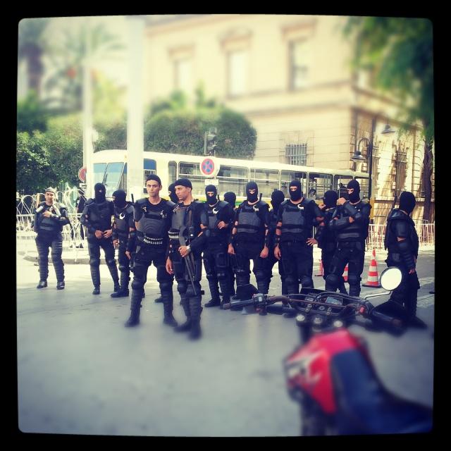 polícia no centro